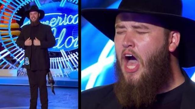 Judges are intrigued by goat farmer right before he unleashes voice that shakes the room