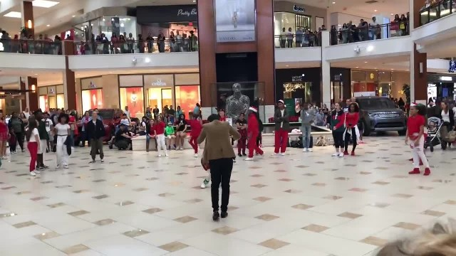 Crowd Thinks Cops Are Breaking Up Dance Group at Mall. Instead, They Join Right in