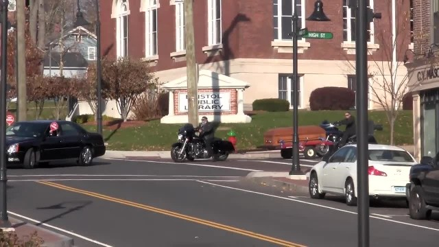These Bikers Rolled Down Main Street. When I Saw Why, I Couldn't Stop Crying!