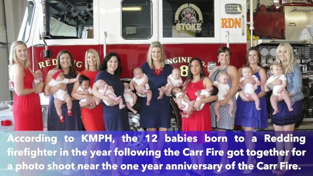 Redding Fire Department welcomes 12 babies