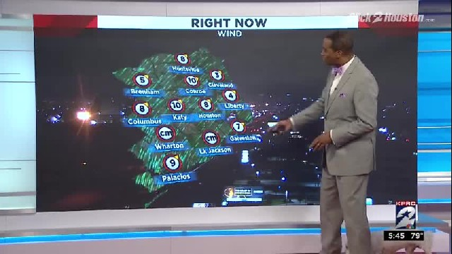 A little 'surprise' interrupts live broadcast of weather report, weatherman's reaction is priceless