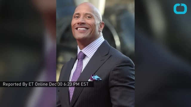 Dwayne Johnson surprises his dad with a brand new house