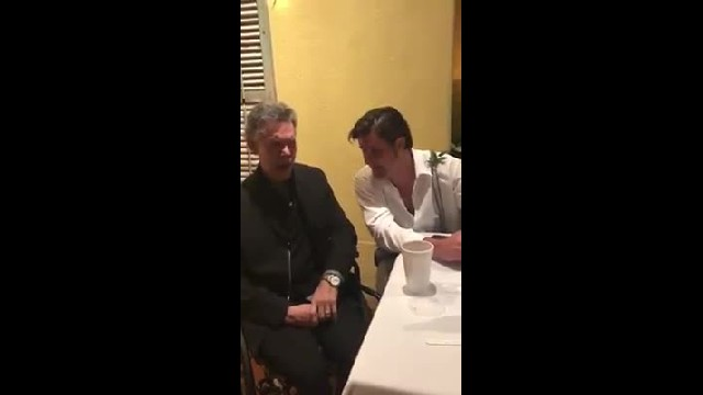 "Randy Travis Joins In During ""I Told You So"" At Country Singer's Wedding"