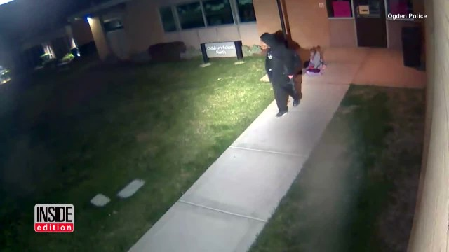 Late Night Dad Takes His Daughter To A College Campus And Leaves. What The Security Footage Records