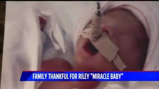 Baby Who Was Born With Less Than 1  Chance Of Surviving Defies All The Odds