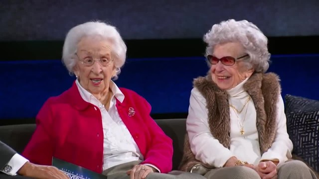 Bickering Grandmas Prove That No Matter How Old You Get, You Never Stop Being Sisters