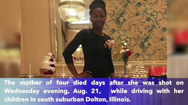 Dolton mother shot while driving with 4 children in car has died