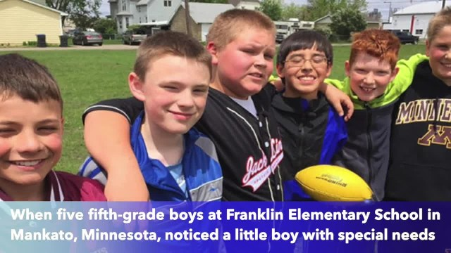 Minnesota 5th-grade boys spot a bully and take action