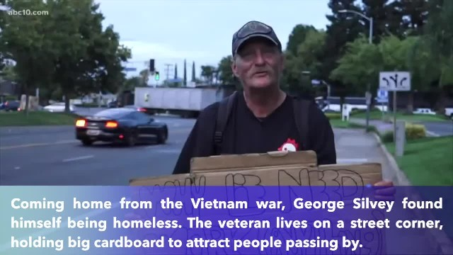 Homeless Vietnam vet declined to take free money, handed out resume instead