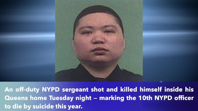 Sergeant kills himself, marking 10th NYPD officer to die by suicide in 2019