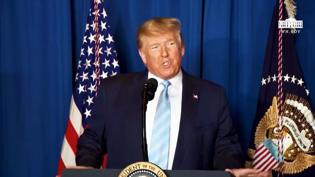 President Trump Delivers a Statement on Iran