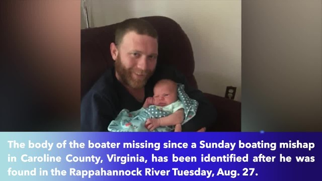 Body found in Rappahannock River identified as missing boater