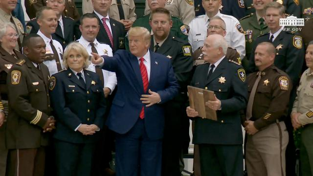 President Trump Remarks with the Sheriffs