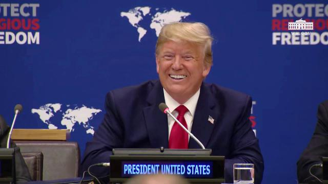 President Trump Leads the United Nations Event on Religious Freedom