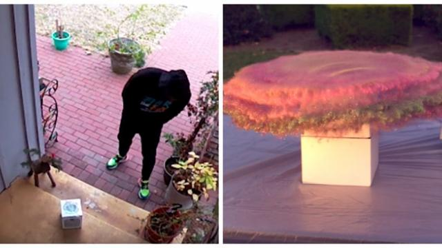 Ex-NASA engineer surprises package thieves with glitter bomb that also farts