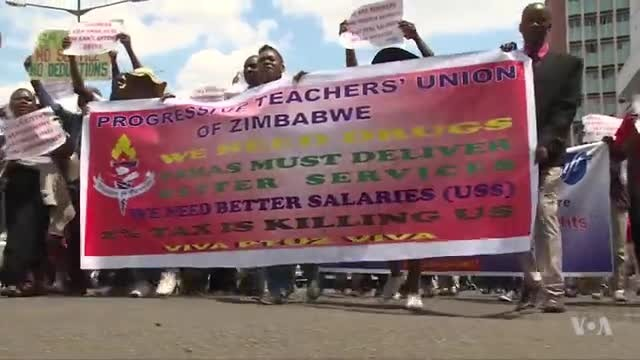 Zimbabwe Teachers Demand US Dollar Salary