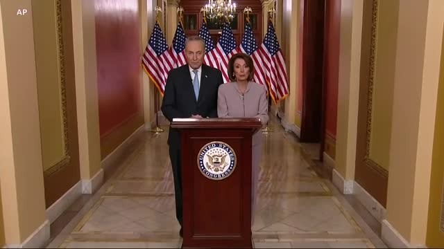 Pelosi, Schumer Respond to Trump Address on Border Security