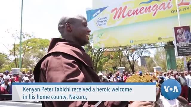Global Teacher Prize Winner Gets Heroic Welcome Home in Kenya