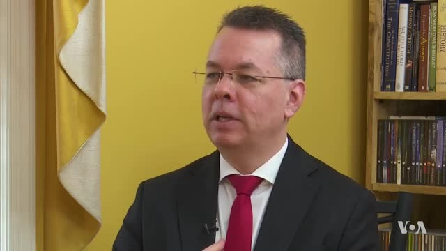 VOA Turkish Service: Pastor Brunson, Wife Discuss His Release