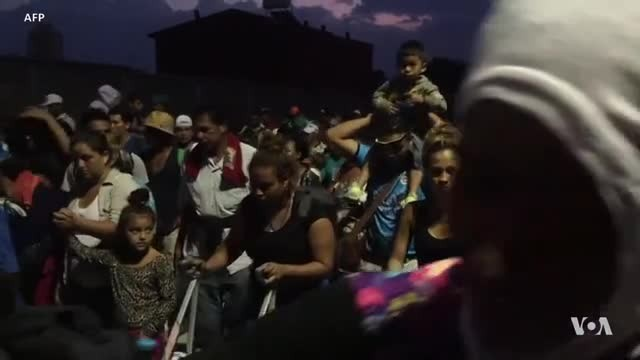 Trump: Migrant Caravan Should Turn Back