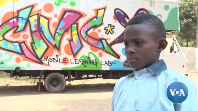 Nigerian Center Teaches Coding to Conflict-Displaced Kids