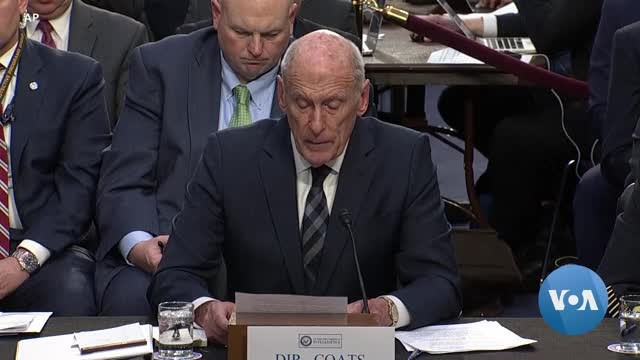 China, Russia Top US Intel Chief's List of Security Threats