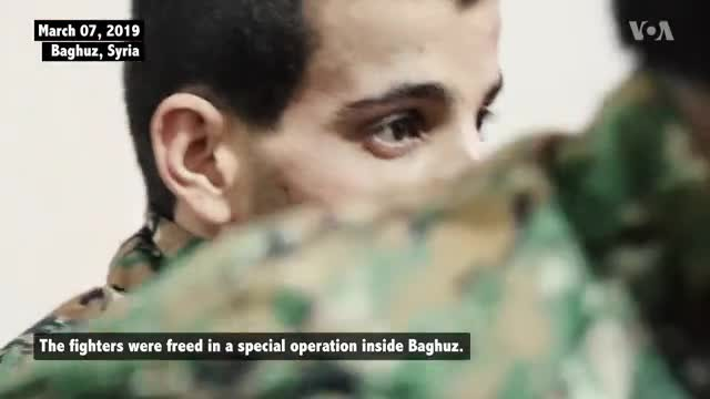 Freed SDF Fighters Speak About Their IS Captivity