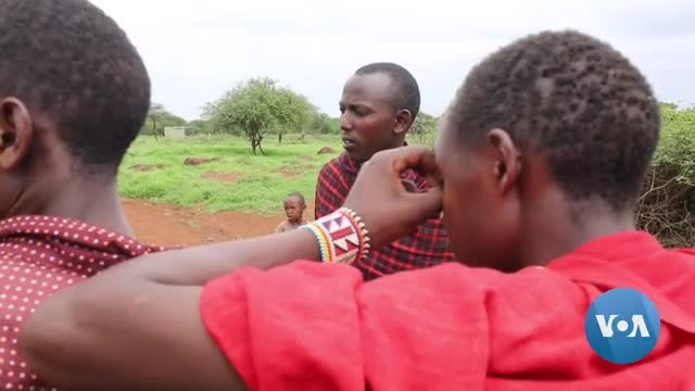 Male Campaigner Seeks to End FGM in Kenya's Maasai Community