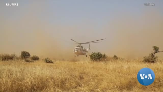UN Peacekeepers Provide Free Clinic in Remote Village in Troubled Mali