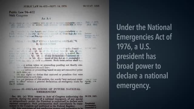 National Emergency Explainer