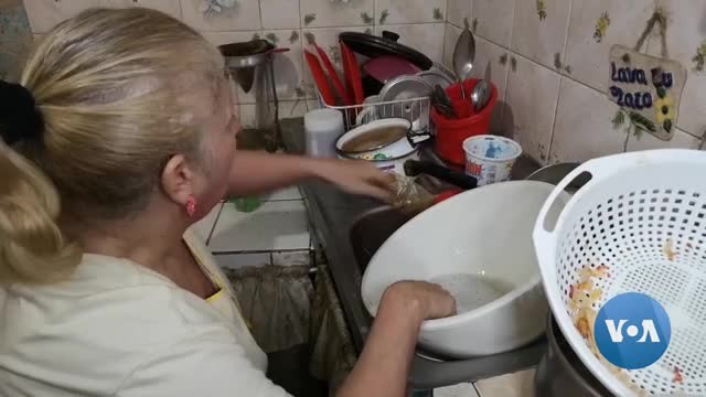 Venezuelans Struggle With Water Shortages