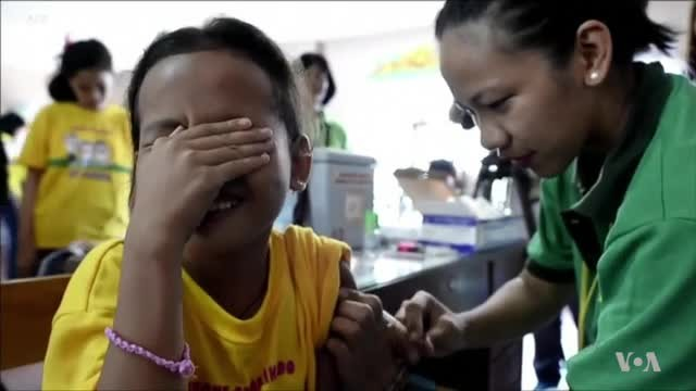 Public Trust in Vaccines Plummets After Philippines Dengue Crisis