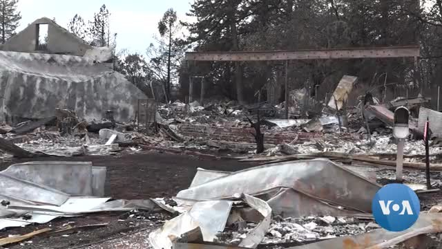 After the Fire, California Community Looks to Future