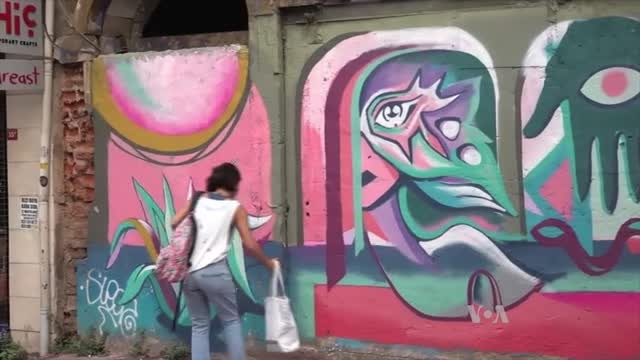 Amid Growing Repression, Turkey's Female Graffiti Artists Shine