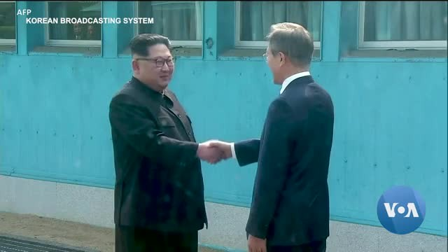 N. Korea Fumes, S. Korea Celebrates on Moon-Kim Summit Anniversary