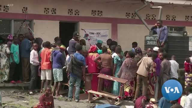 DR Congo's Election Marred by Unrest, Ebola, Technical Problems