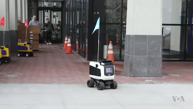 Robots Invade Campus to Deliver Burritos