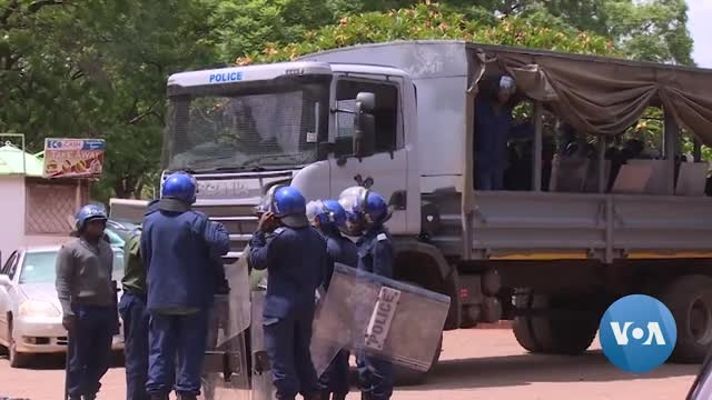 Zimbabwe NGOs, Opposition Accuse Security Forces of Brutalizing Protestors