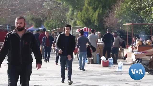 Organization in Iraq's Kurdish Region Helps College Graduates Start Businesses