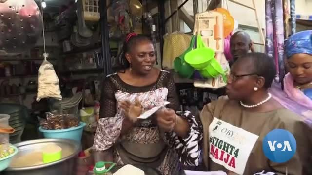 Nigerian Women Struggle to Get Into Politics