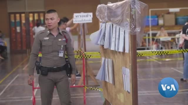 Military Party Leads Thai Election Results