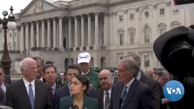 US Lawmakers Give Mixed Reviews to Ambitious Green New Deal Proposal