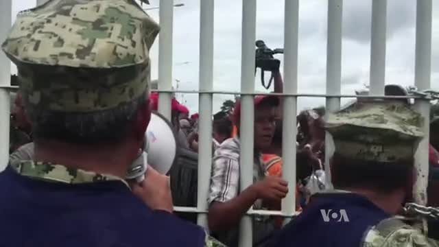 Migrant Caravan Shrinks After Trump's Warning