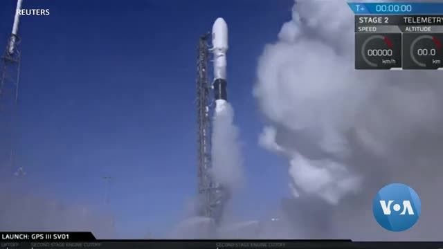US SpaceX First National Security Mission
