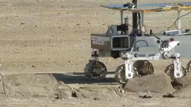 Mars-Bound Rover Gets Earth-Bound Test