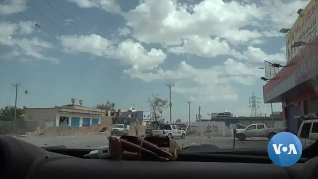 Displaced Families Languish in Tripoli as Libya Fighting Continues