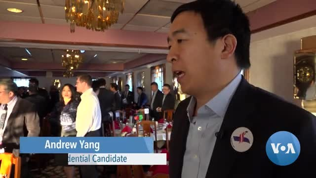 2020 Democratic Presidential Candidate Andrew Yang Shares His Message