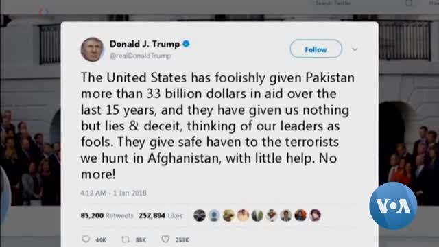 US-Pakistan Relations Make Little Progress in 2018