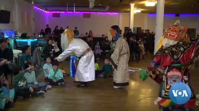 Mongolian Community in Washington Celebrate Lunar New Year's Day