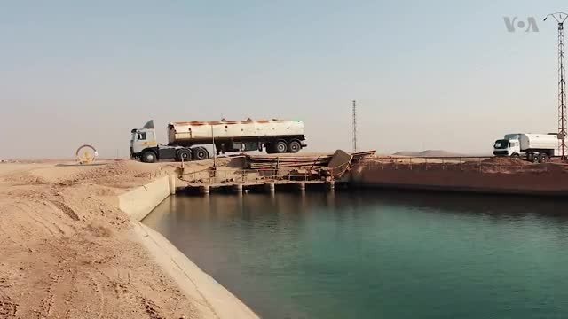 Efforts Continue to Rebuild Raqqa's Destroyed Bridges